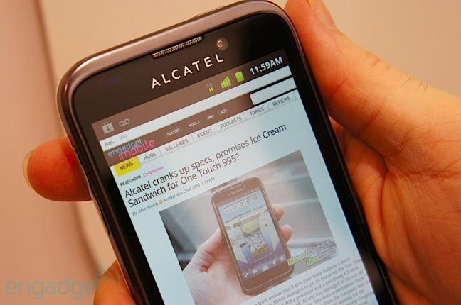 Как сделать скриншот на андроиде алкатель